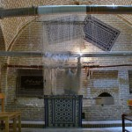 ペルシャ絨毯の制作過程