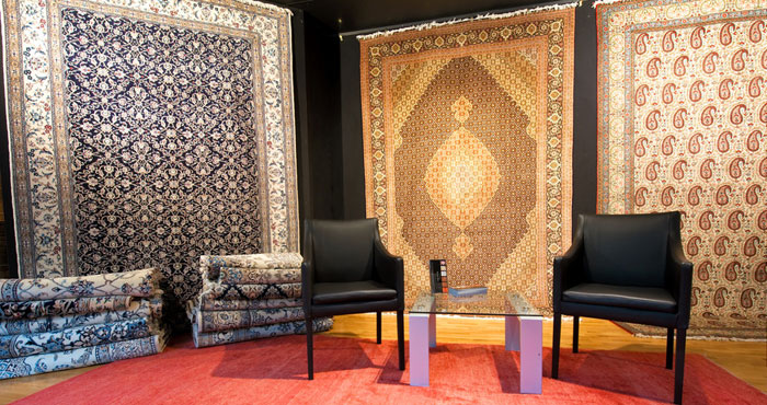 ペルシャ絨毯の信頼できる販売会