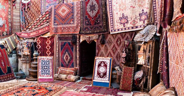 ペルシャ絨毯のサイズ