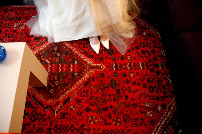 ペルシャ絨毯の素材の違い