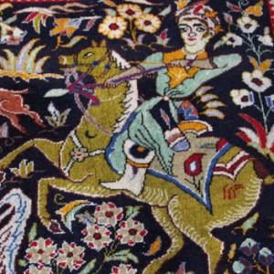ペルシャ絨毯は一点物