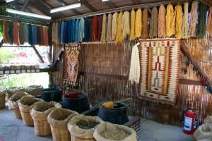 ペルシャ絨毯の素材と織り方