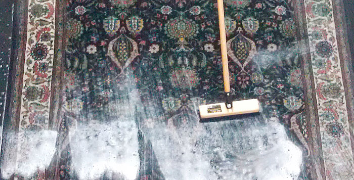 ペルシャ絨毯のクリーニング