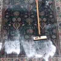 ペルシャ絨毯の水洗い